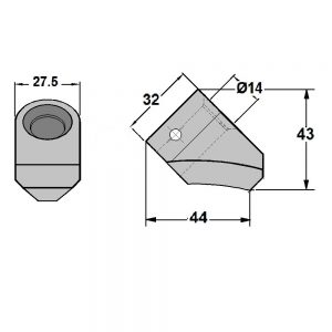 Conical Pick B Blocks