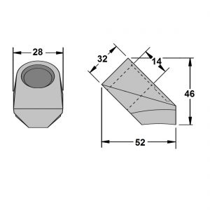 Conical Pick C Blocks