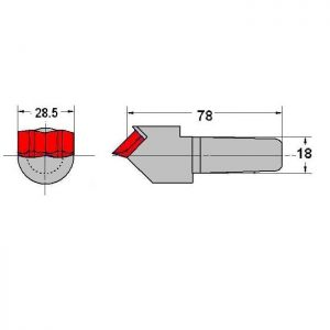 Taper Fit Auger Teeth